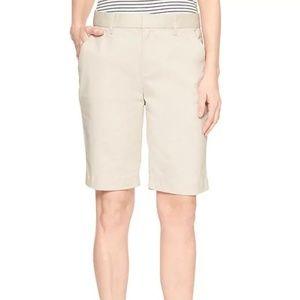 "GAP 10"" Bermuda Shorts in Twill"